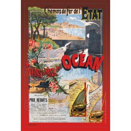 Affiche Royan au bains de mer