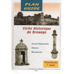 Plan-guide de Brouage