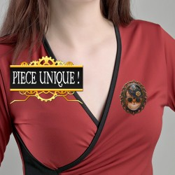 Broche chat chic